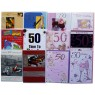 Birthday cards, male, age 50,every card is different,order as many as you need.