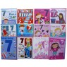 Birthday cards, girl, age 7,every card is different,order as many as you need.