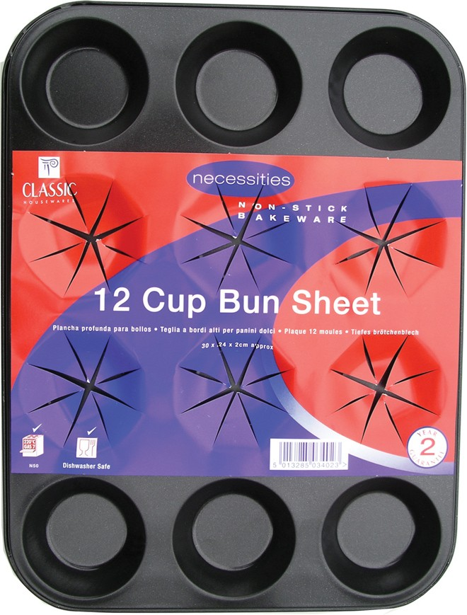 12 cup bun tin