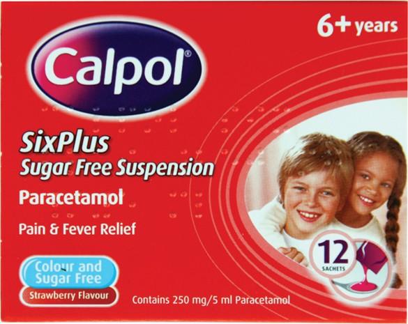 Calpol 6+ years