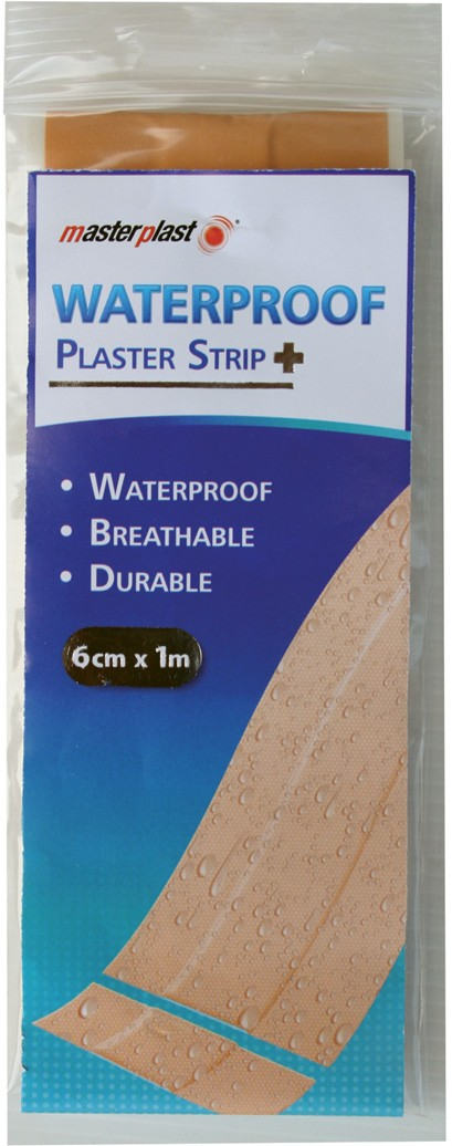 Waterproof plaster strip