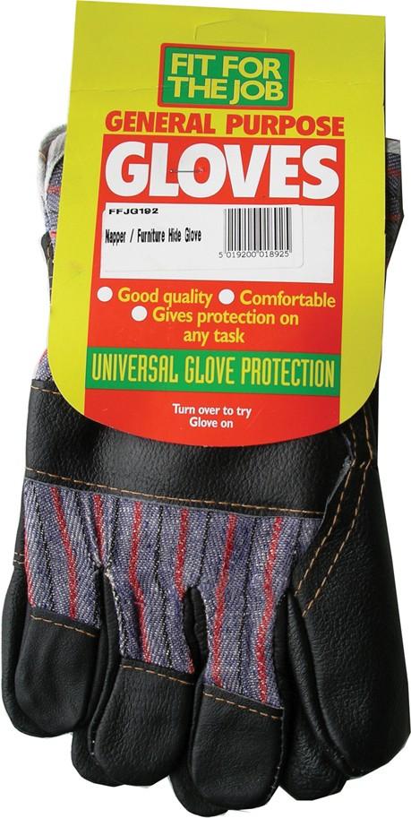 Hide rigger gloves