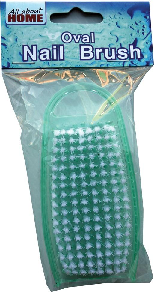 Plastic nail brushes