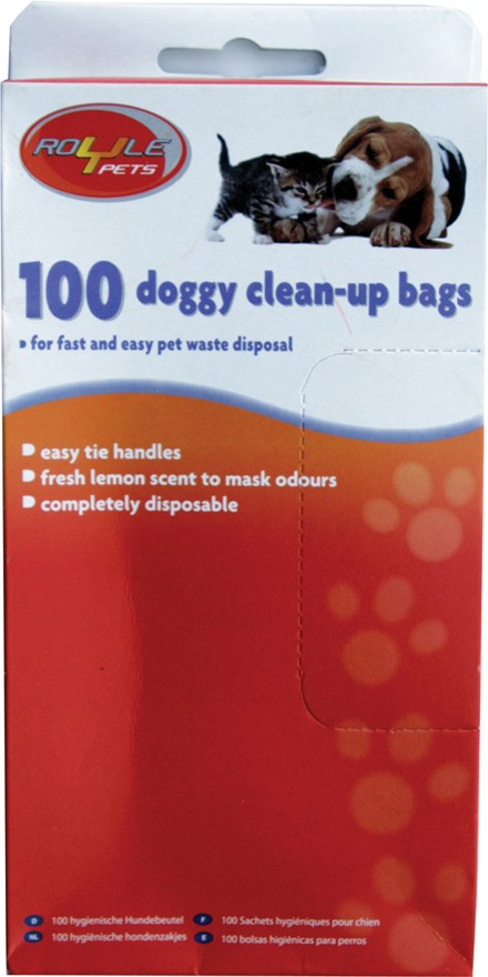Doggy clean up bags