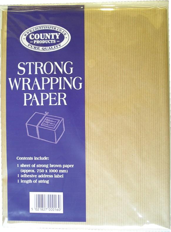 Brown paper sheet