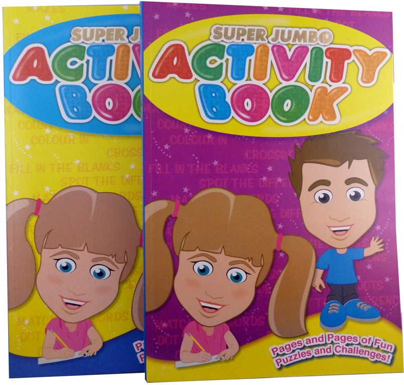Assorted colouring/activity books