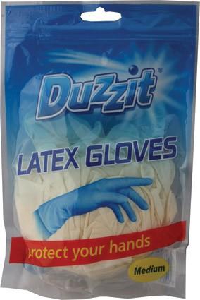 12 latex gloves