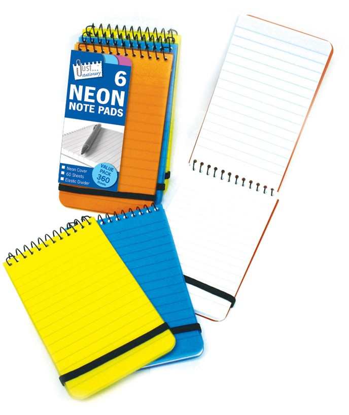 6 pocket note pads