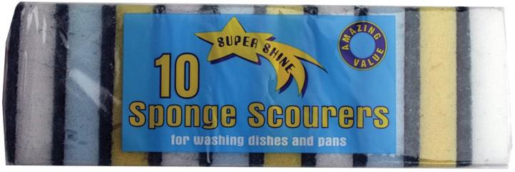 Packet of sponge scourers