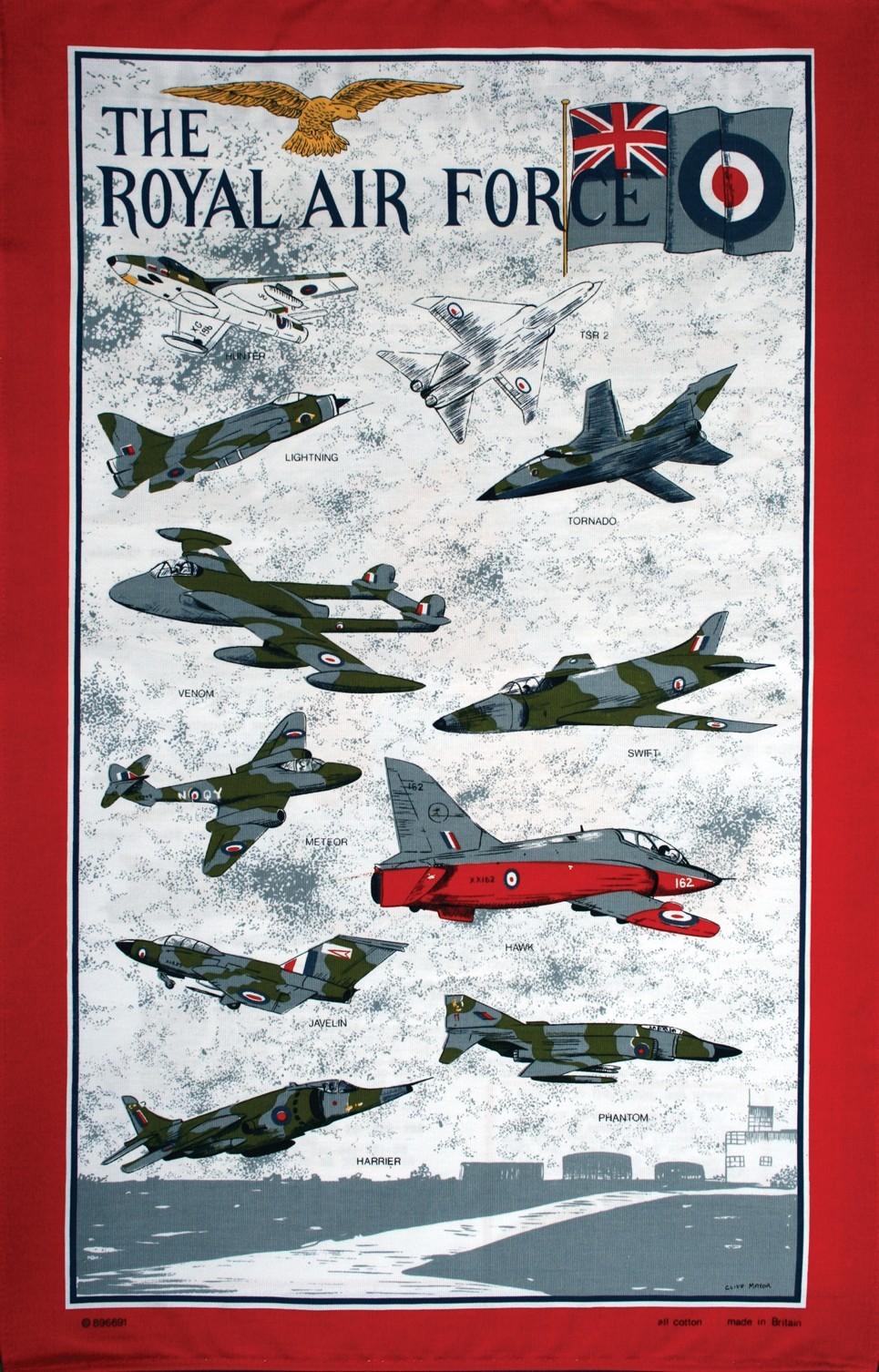Tea towel - Royal Air Force