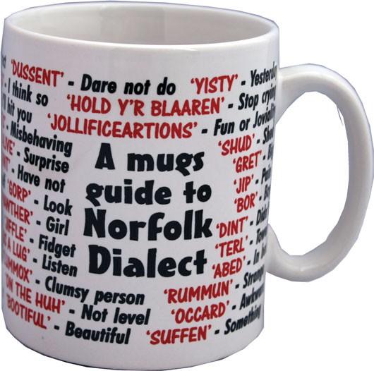 norfolk dialect mug