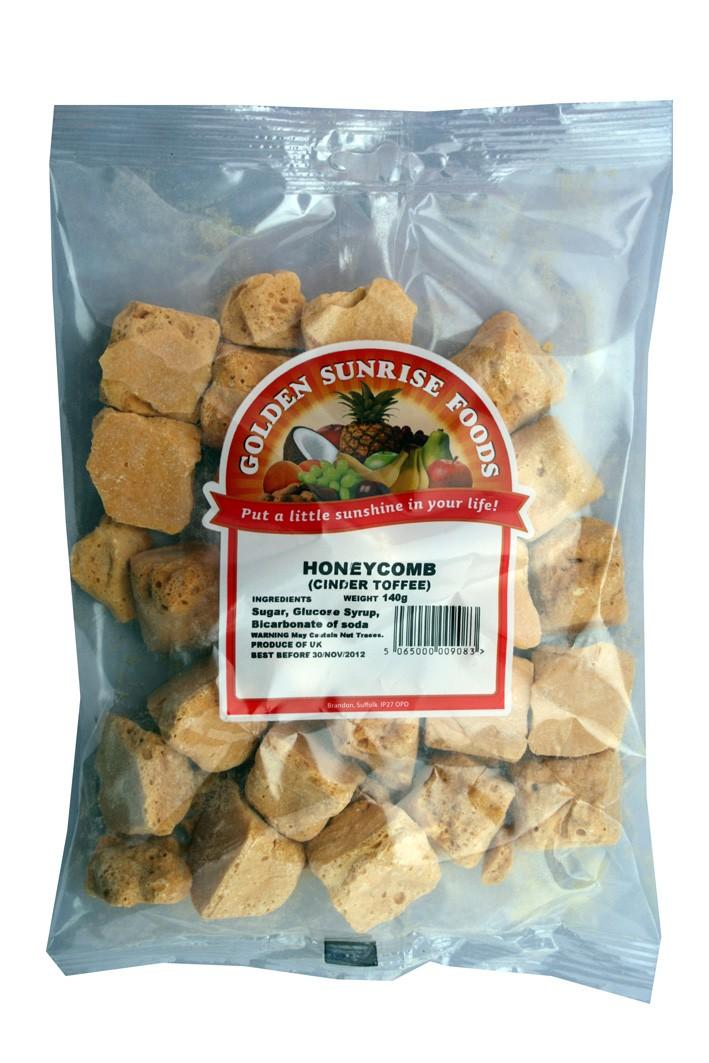 Honeycomb (cinder toffee) 150g bag