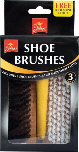 Shoe brush set