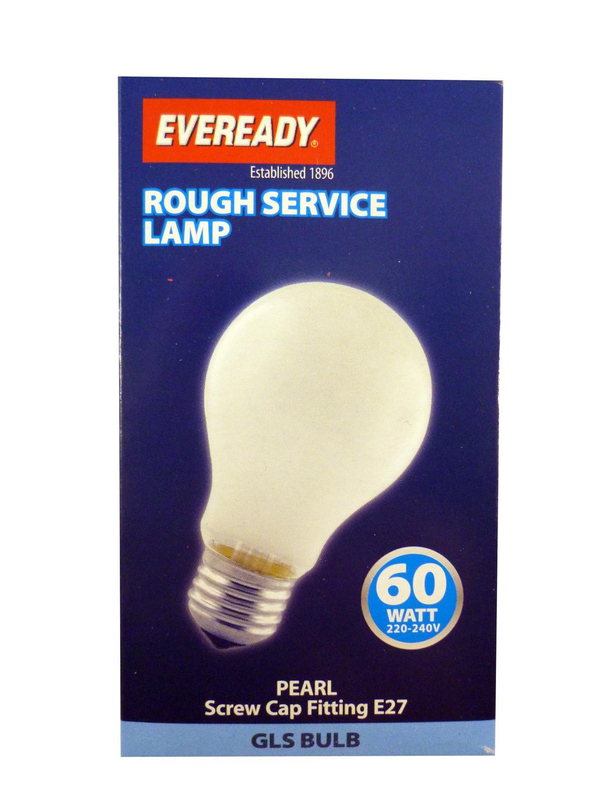 Standard screw cap 60 watt bulb Pack of 10