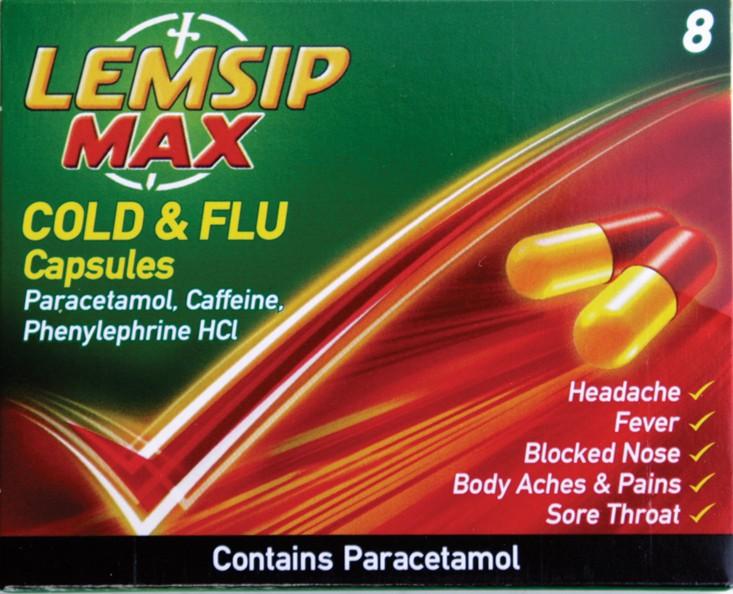 Lemsip Max capsules