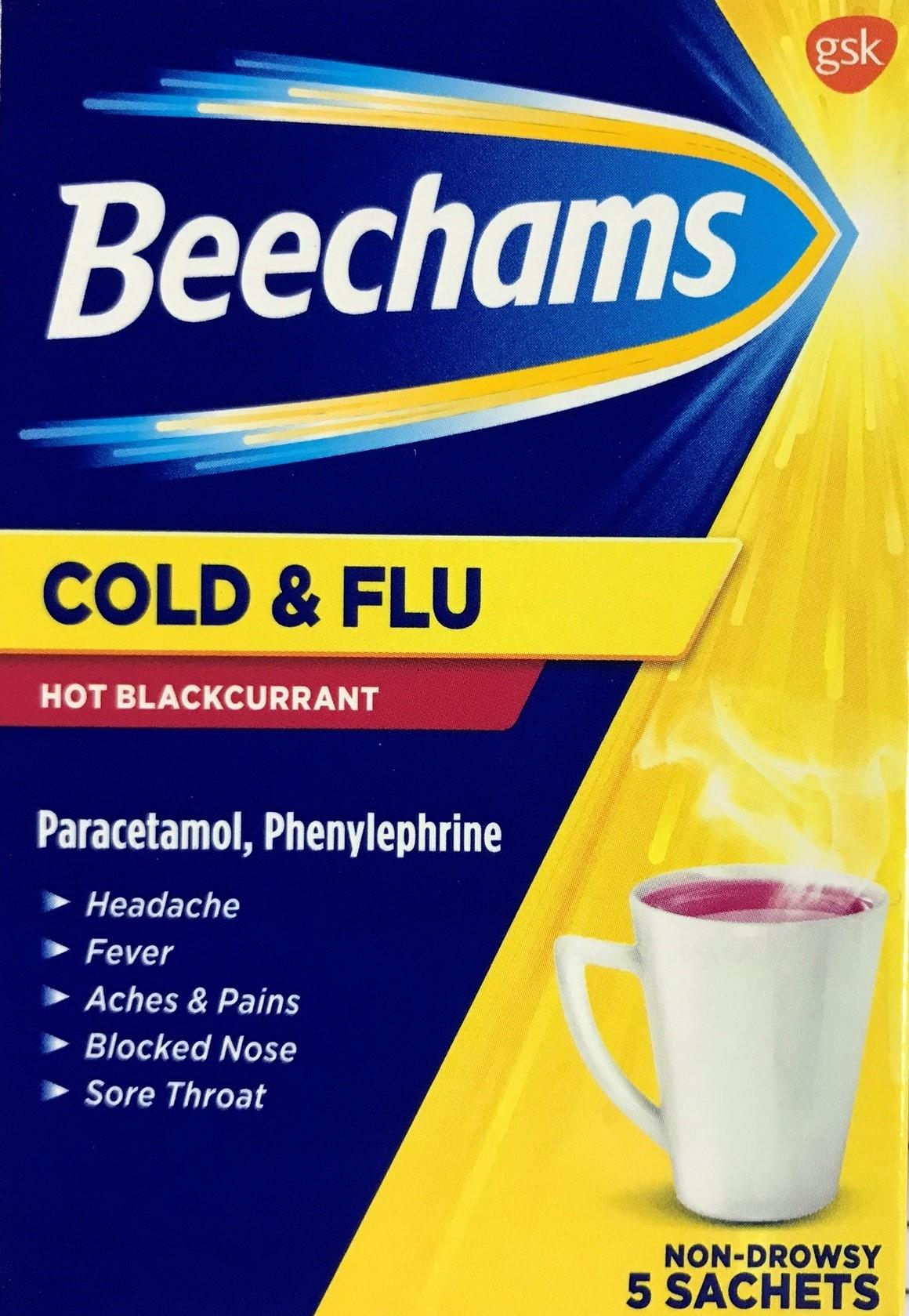 Beechams Blackcurrant