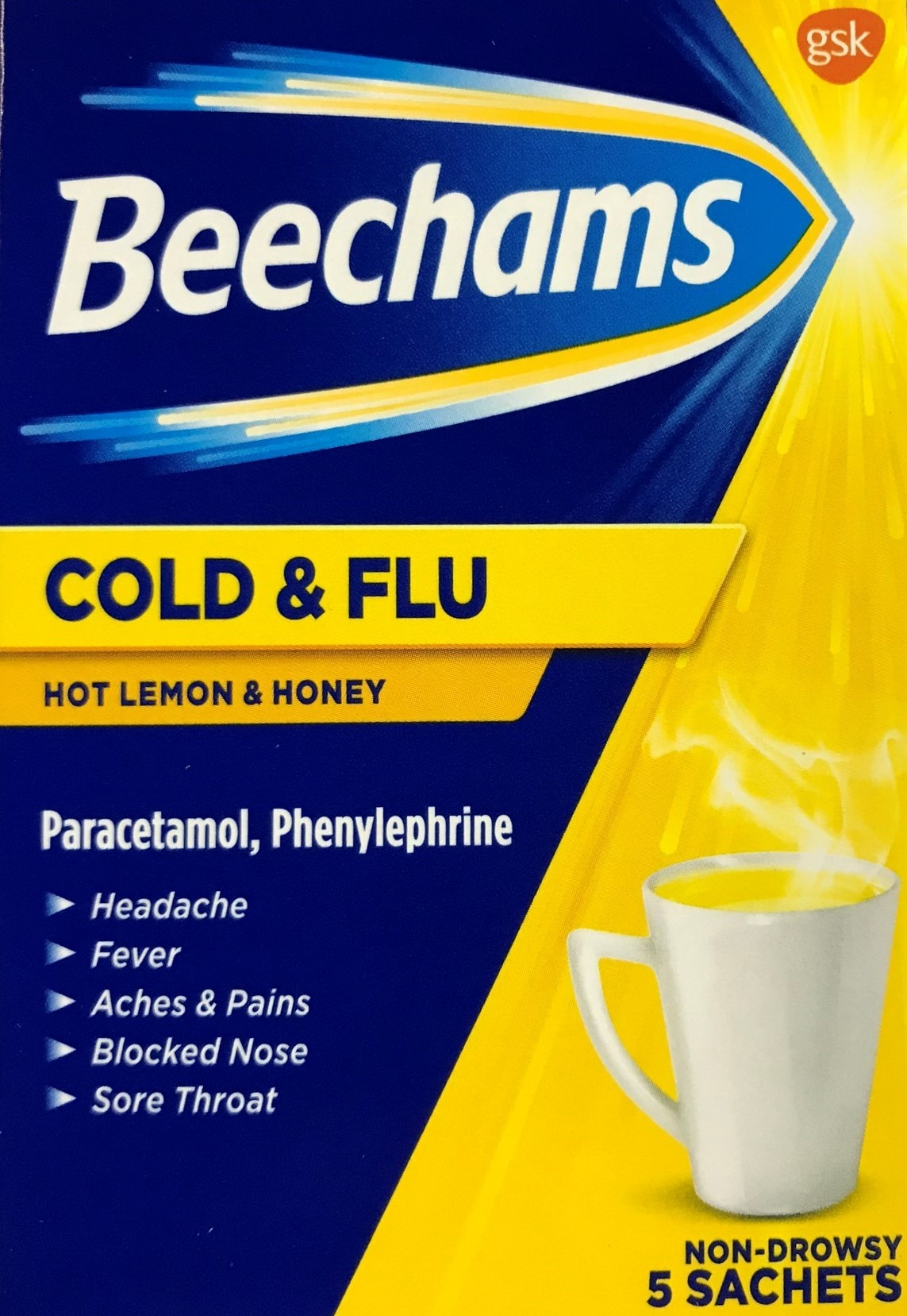 Beechams Lemon and Honey