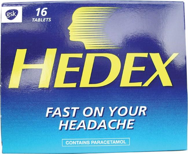 Hedex tablets