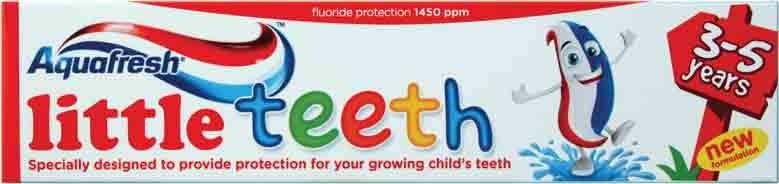 """Aquafresh """"Little Teeth"""" Toothpaste"""
