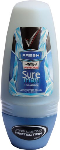 Sure roll on deodorant (men)