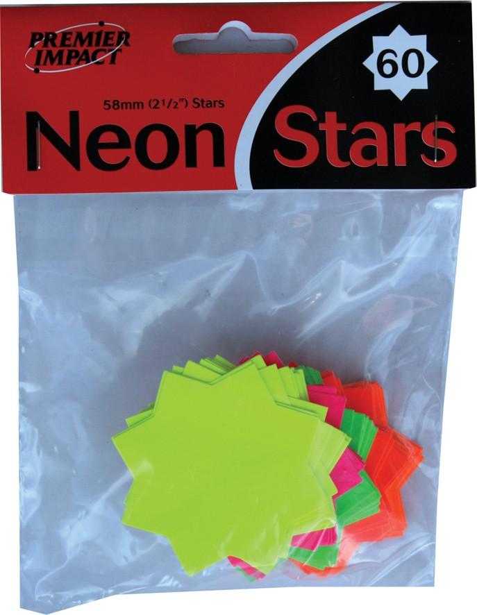 Small neon stars