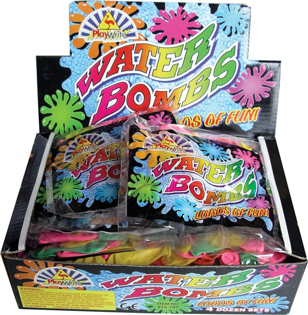 Box of 48 water bombs