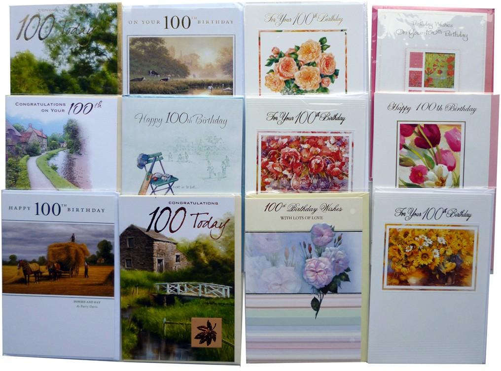 100th birthday cards