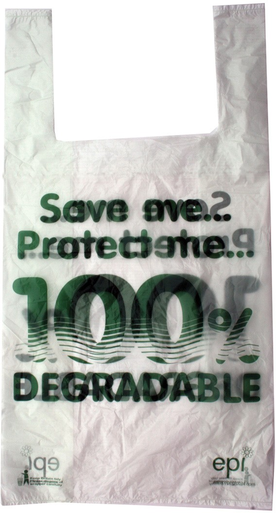 degradable carrier bags
