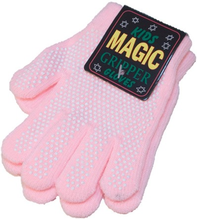 Child's magic small gripper gloves in lilac, sky blue, pink, royal blue or navy