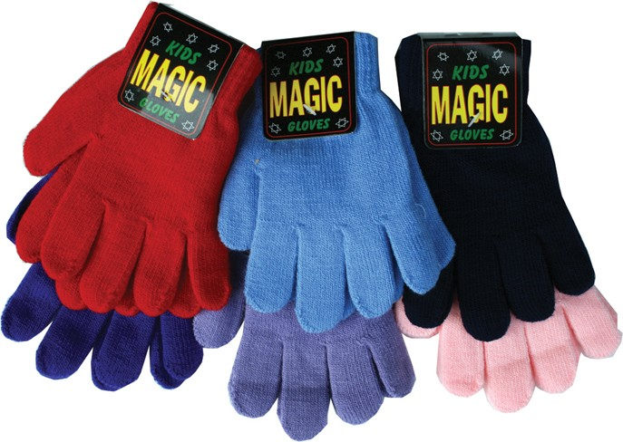 Child's (small) magic gripper gloves in pink, navy, red, royal blue, lilac or sky blue