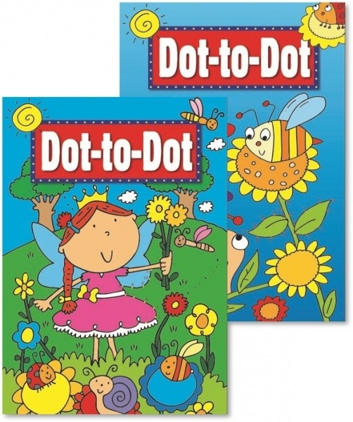 Dot to dot activity book