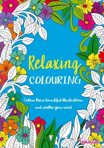 relaxing colouring - adult