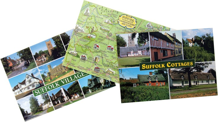 Suffolk postcards
