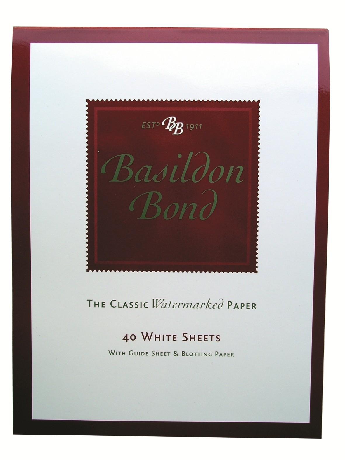 Basildon Bond White Writing Pad
