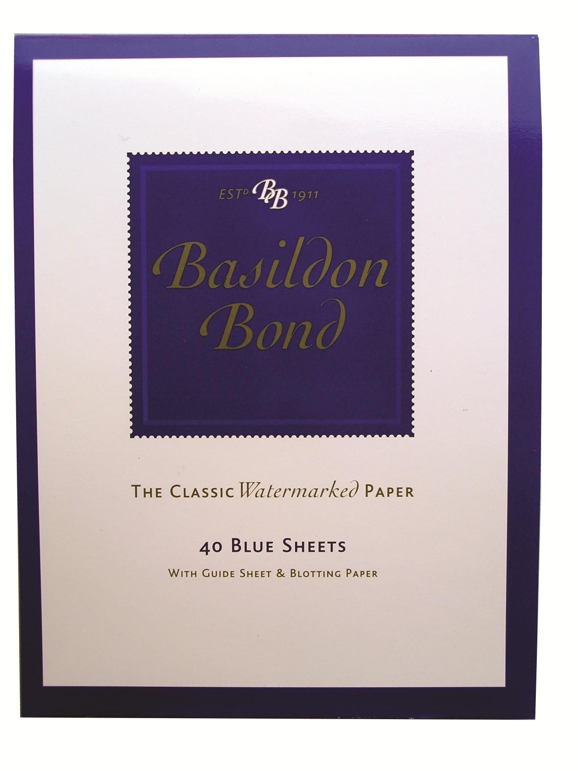 Basildon Bond Blue Writing Pad