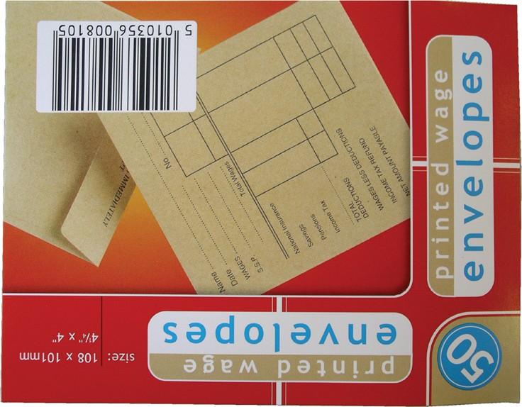 Wage envelopes