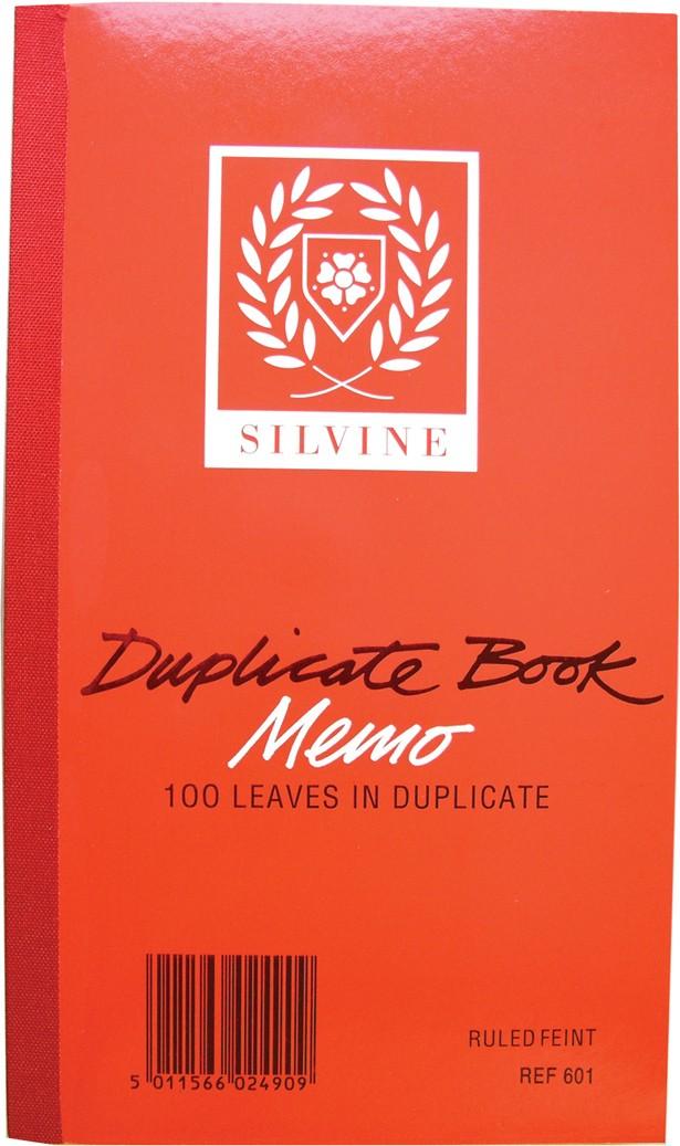 Duplicate memo book