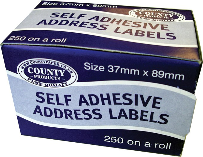 self adhesive address labels