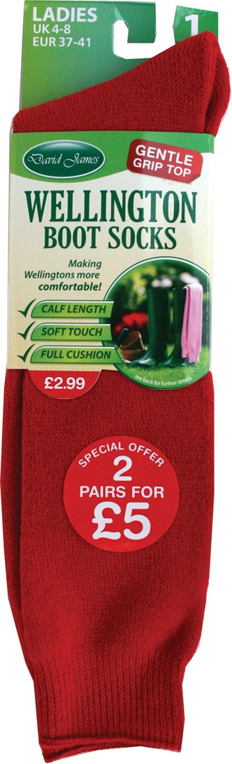 Ladies wellington socks