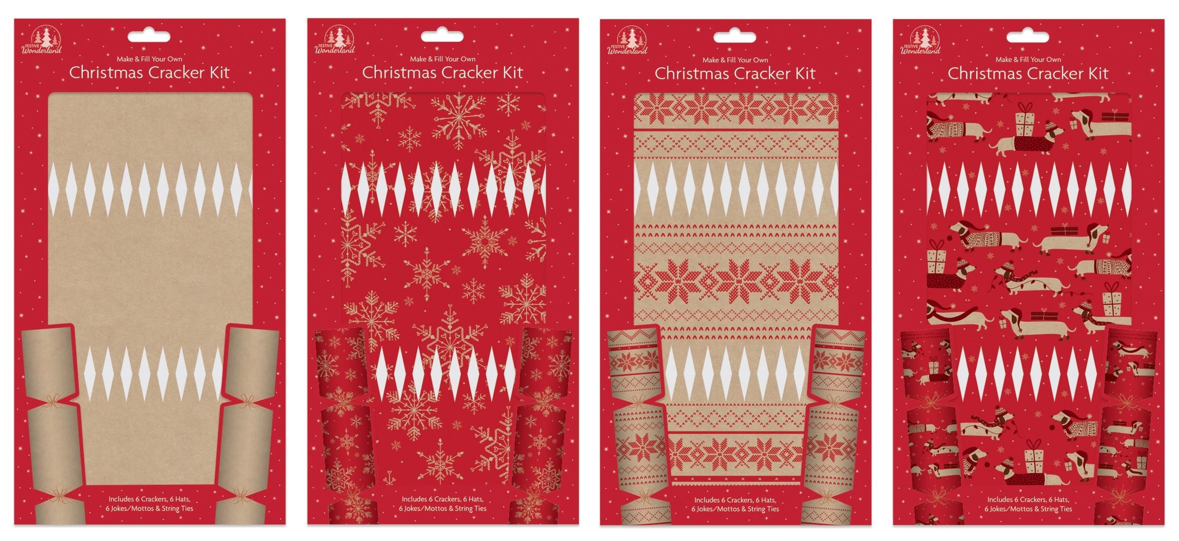 christmas cracker making kit