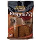 Dog Strips Chicken