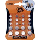 Assorted size watch batteries