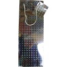 Holographic bottle gift bag