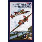 Tea towel - Spitfire and Hurricane