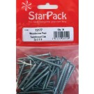 "Packet of 2"" screws"