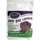Jam pot covers