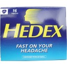 Hedex tablets