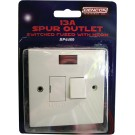 13amp spur outlet with neon