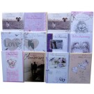 "Assorted ""Our Wedding Anniversary"" cards"