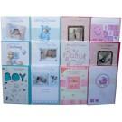 Christening day card - girls